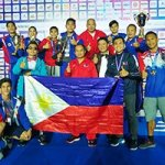 National Boxer Mario Fernandez (right) shows his stuff in the 2017 SEA Games. (Photo by Skip Tan, via Marcus Jarwin Manalo)