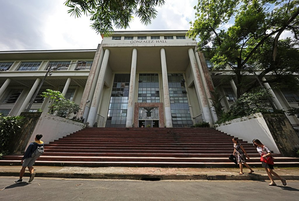The UP Diliman Main Library will be renovated, according to UP President Danilo L. Concepcion. (Photo by Misael Bacani, UP MPRO)