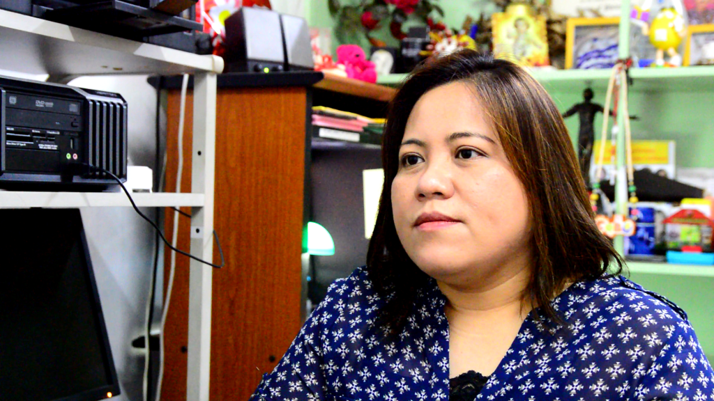 Dr. Sharon Villanueva of the UP Manila College of Public Health. Dr. Villanueva heads the public awareness and information campaigns group for LeptoVax. She has also been working with Dr. Gloriani in developing the vaccine.