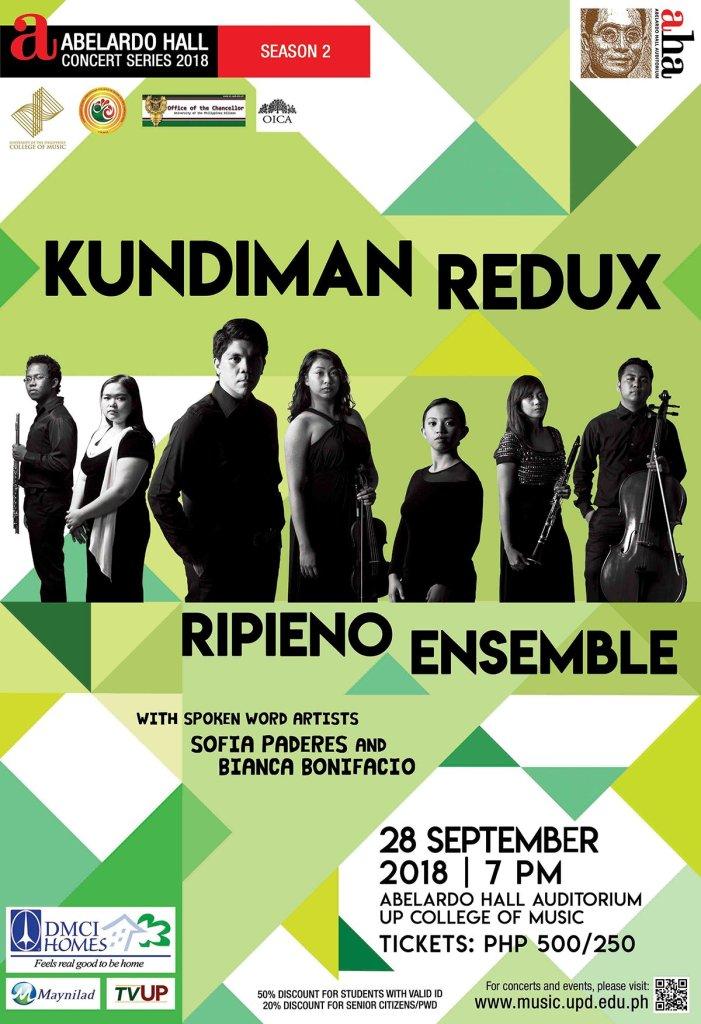 "Ripieno Ensemble in ""Kundiman Redux"""