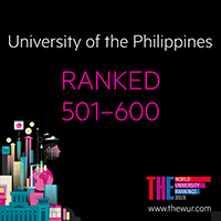 UP continues upward trend in world rankings; joins top 5 from Southeast Asia