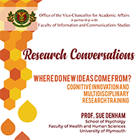UPOU hosts conversations on cognitive innovation and multidisciplinary research training