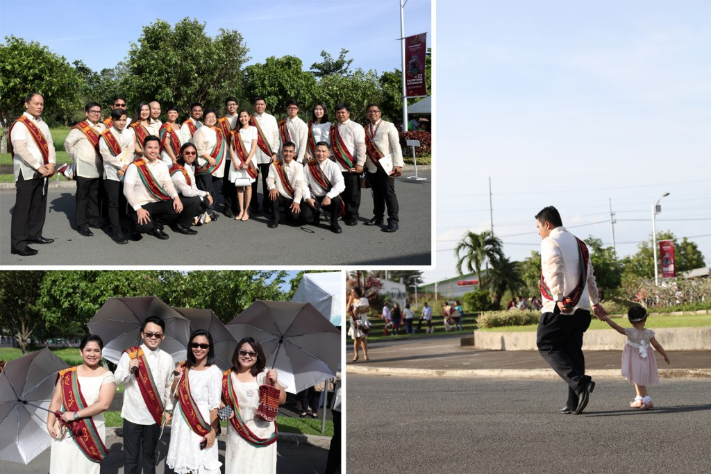 Scenes prior to the graduation ceremony (Photos by Misael Bacani, UP MPRO)