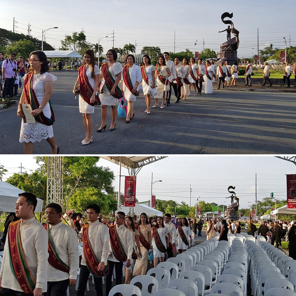 Members of the graduating class in the processional (Photos by Arlyn VCD Palisoc Romualdo, UP MPRO)