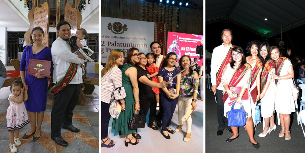 The end of the ceremony allows the graduates to take photos with family, friends, and professors. (Photos by Misael Bacani, UP MPRO)