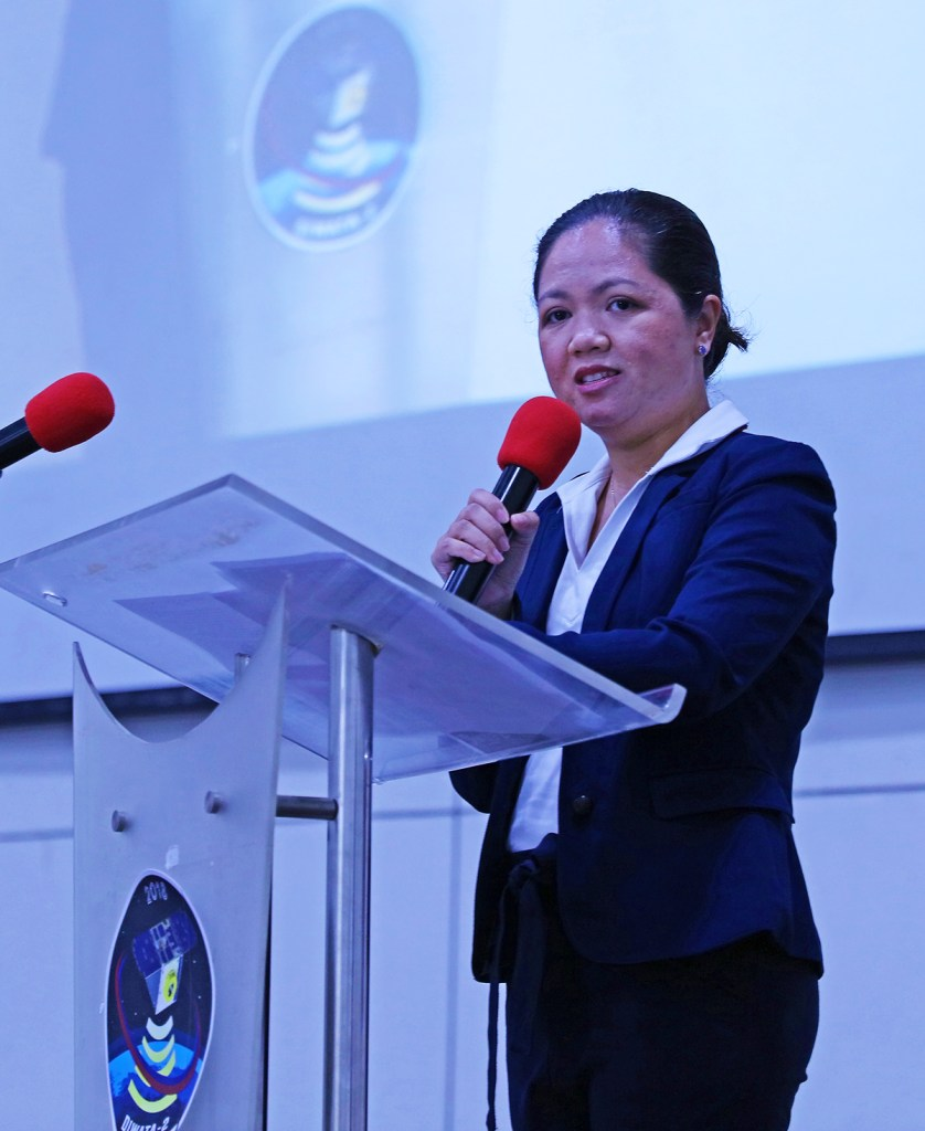PHL-Microsat Project 5 head and ASEAN US Science Prize for Women winner Gay Jane Perez. (Photo by Misael Bacani, UP MPRO)