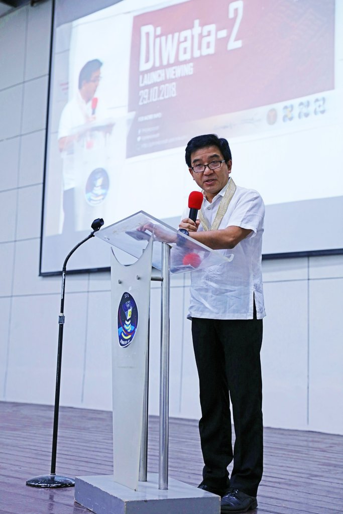 UP Diliman Vice Chancellor for Research and Development Fidel Nemenzo. (Photo by Misael Bacani, UP MPRO)