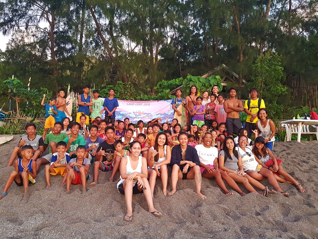 Zambales leg of the Surf to School Program (Photo courtesy of Edeline Payawal)