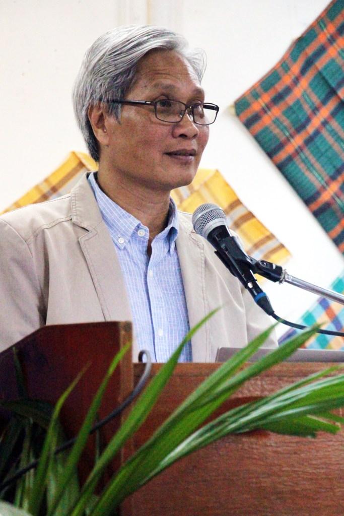 Professor Ferdinand Llanes (Photo by Jun Madrid, UP MPRO)