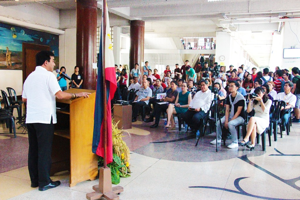 UP Diliman Vice Chancellor for Research and Development Fidel Nemenzo. (Photo by Jun Madrid, MPRO)