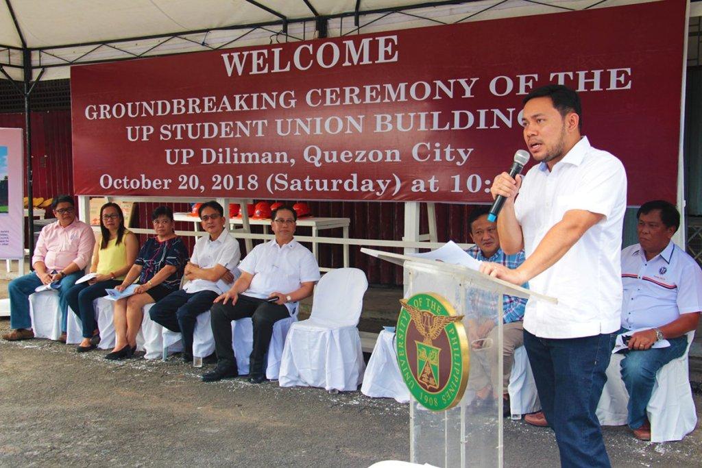 DPWH Secretary Mark A. Villar (Photo by Jun Madrid, UP MPRO)