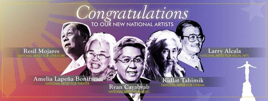 5 UP Alumni among 7 New National Artists