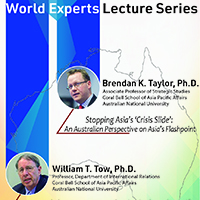 World Experts Lecture Series