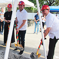 Construction of the UP Student Union Building starts