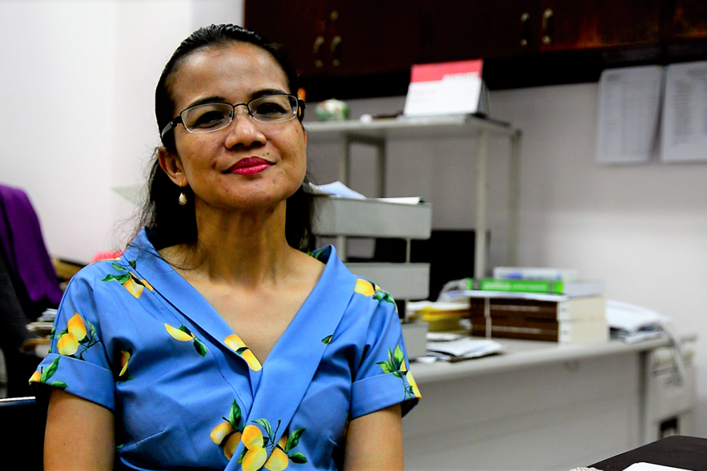 Prof. Maria Ela Atienza, PhD. Chairperson of the Department of Political Science, UP Diliman.