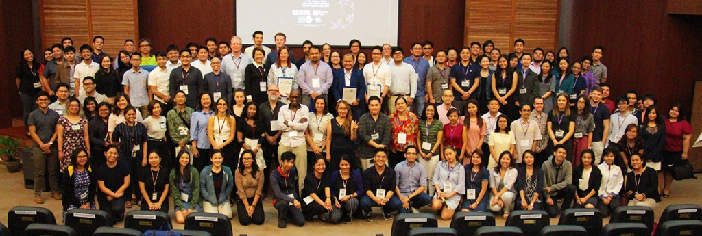 Participants of GEID 2018 pose for a group photograph (Photo by Jun Madrid, UP MPRO)