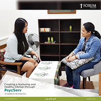 Creating a Nurturing and Healthy Diliman through PsycServ