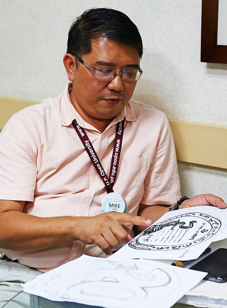 Human Resources Development Office chief Michael Lagaya (Photo by Misael Bacani, UP MPRO)