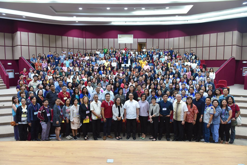 REPS from all of UP's constituent universities (CUs) travelled to UP Diliman for the conference. (Photo by Bong Arboleda, UP MPRO)