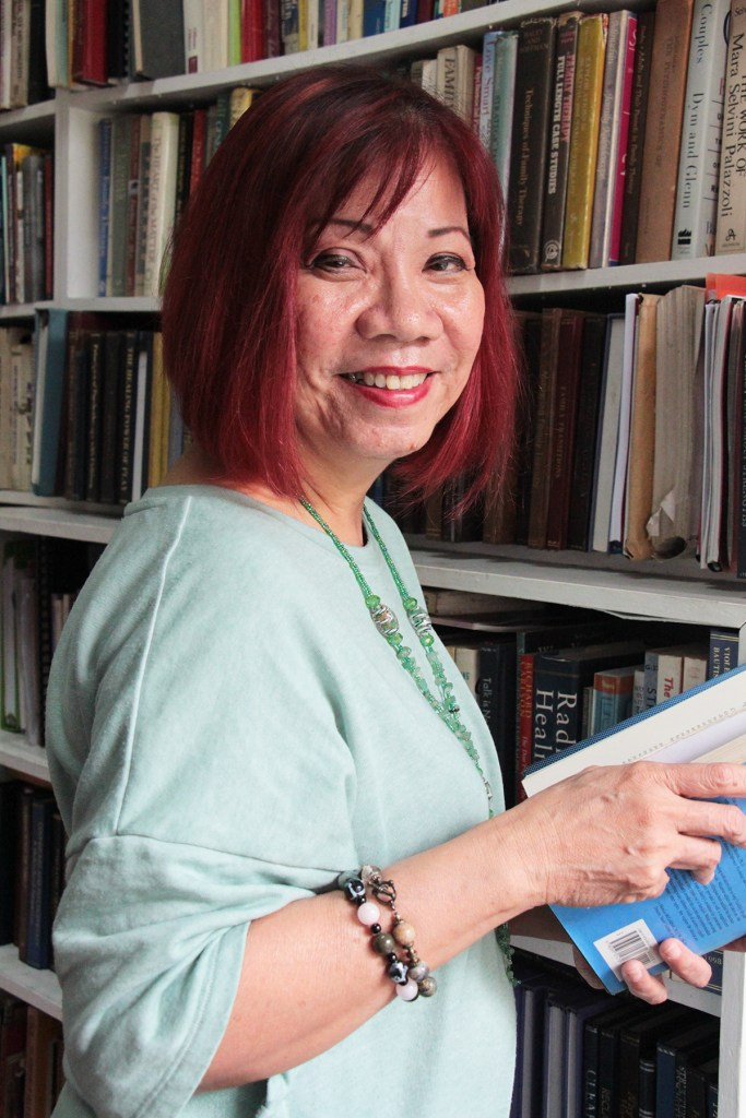 Dr. Violeta Bautista of the UP Department of Psychology. (Photo by Jun Madrid, UP MPRO)