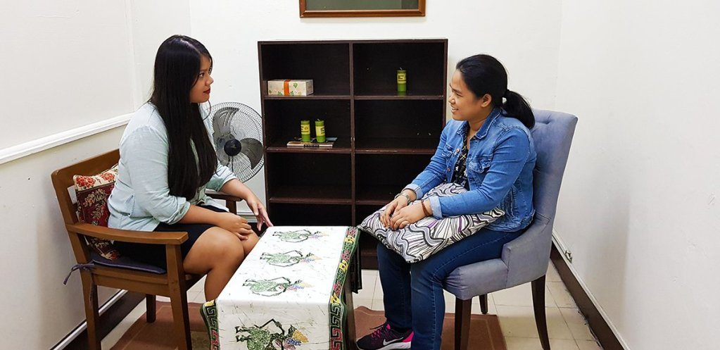 A sneak peek into PsycServ's counselling room at Lagmay Hall. (Photo by Jun Madrid UP MPRO)
