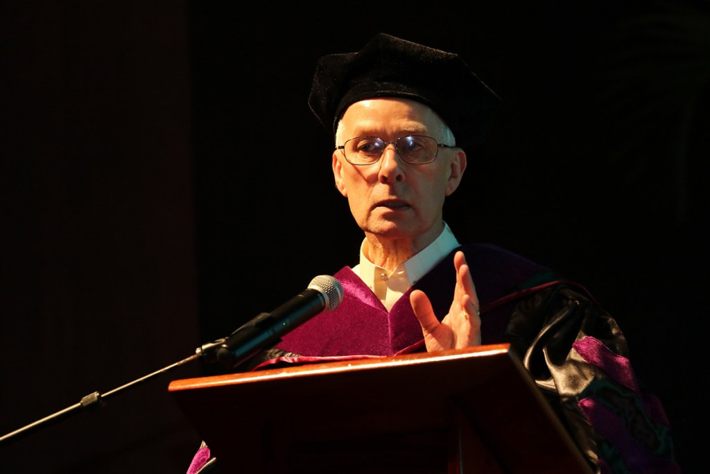 UP confers Doctor of Laws upon Dr. Richard Roberts