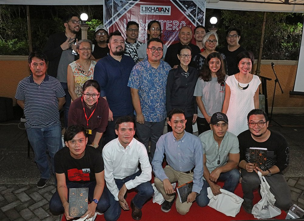 The editors, authors, and production staff of Likhaan 12 (Photo by Misael Bacani, UP MPRO)