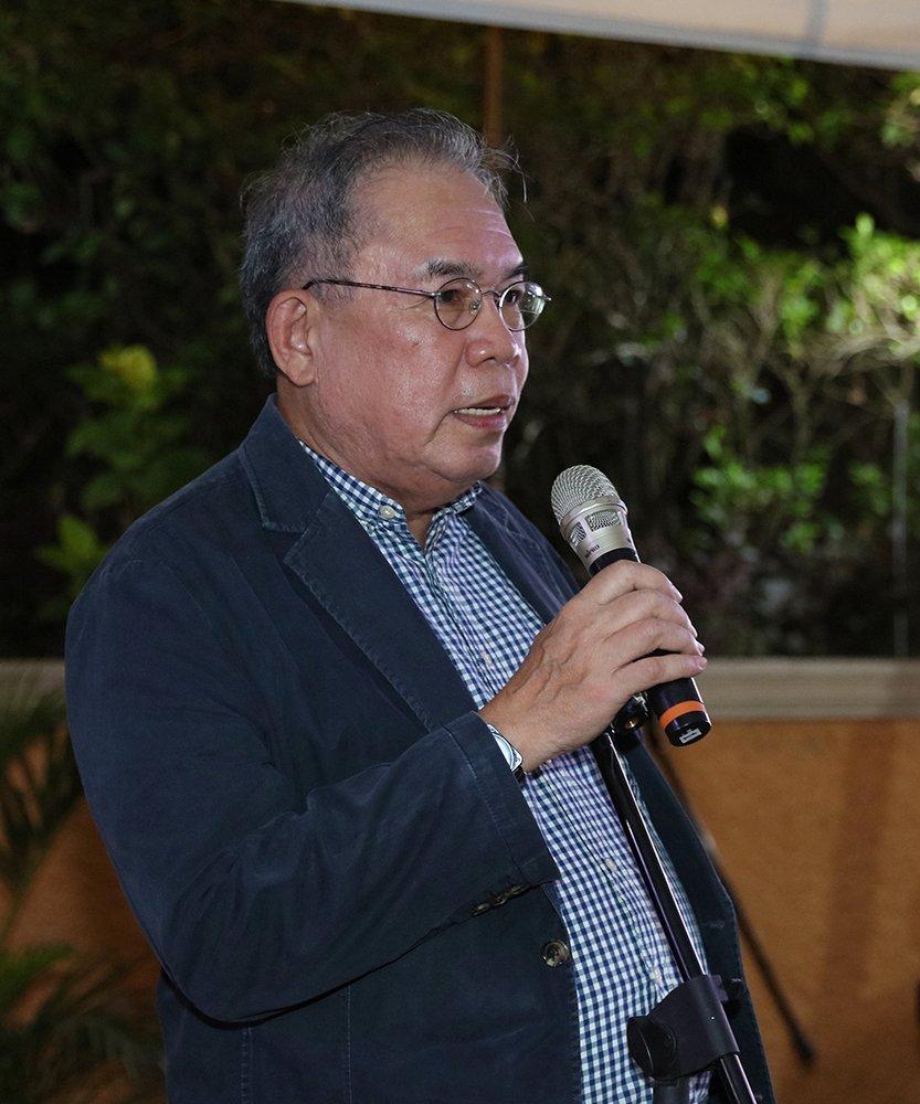Dr. Jose Dalisay Jr., editor of Likhaan 40@40 (Photo by Misael Bacani, UP MPRO)