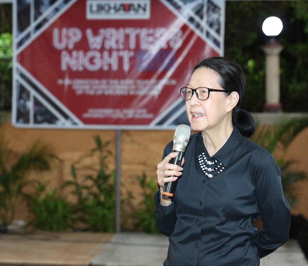 Former ICW Director Cristina Pantoja-Hidalgo (Photo by Misael Bacani, UP MPRO)