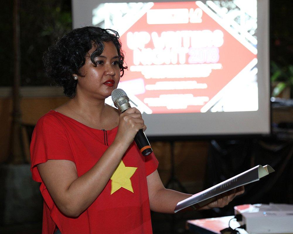 Prof. Sandra Nicole Roldan (Photo by Misael Bacani, UP MPRO)