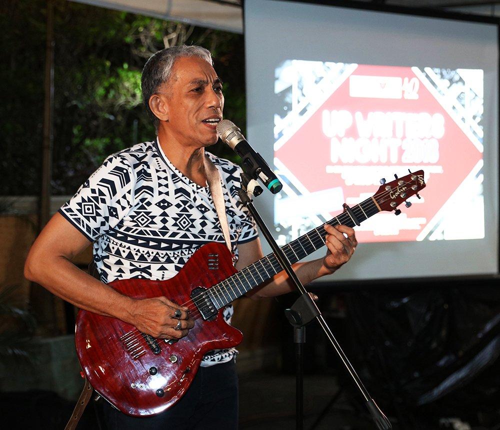 Joey Ayala (Photo by Misael Bacani, UP MPRO)