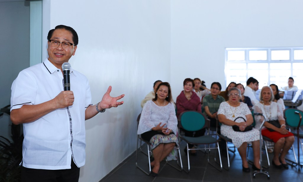 Chancellor Michael Tan and President Danilo Concepcion deliver messages. (Photos by Misael Bacani, UP MPRO)