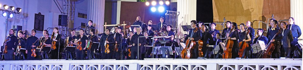 The newly-formed UP Symphonic Orchestra is introduced to the world. (Photo by Misael Bacani, UP MPRO)