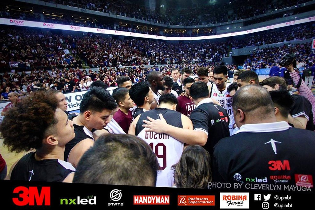 (Photo courtesy of UP Men's Basketball Team Facebook page)