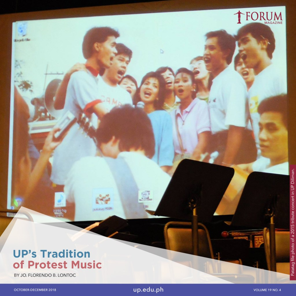 UP's Tradition of Protest Music