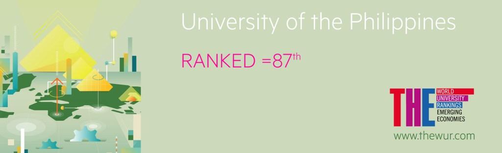 UP ranks 87th among top universities in emerging economies