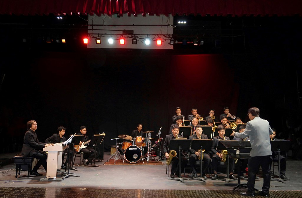 The UP Jazz Ensemble in one of their performances. (Photo courtesy of Prof. Rayben Maigue)