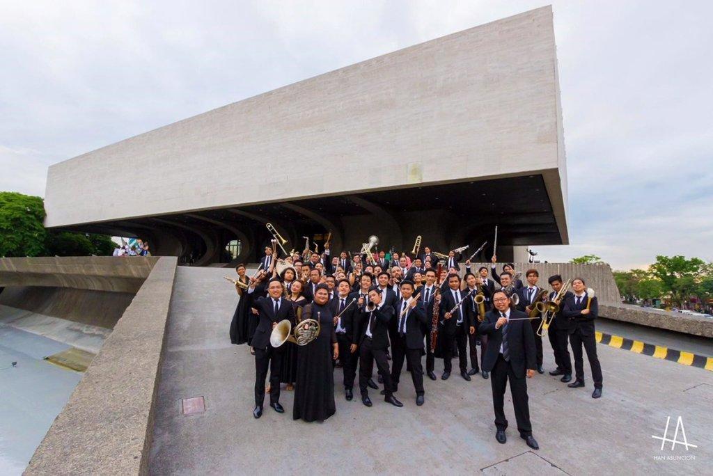 UP Symphonic Band. (Photo by Han Asuncion)