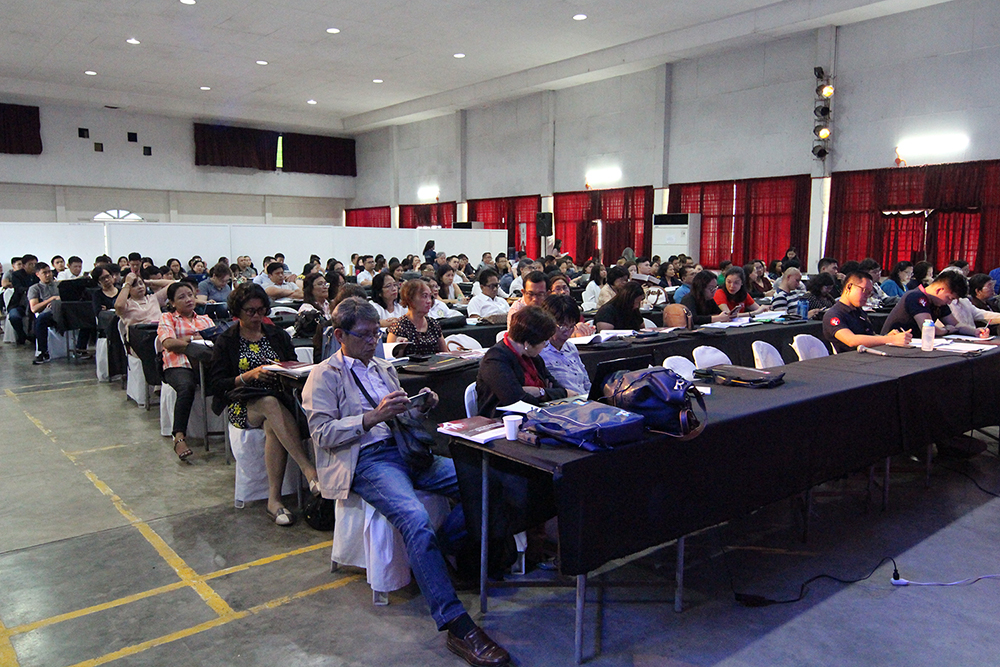 Participants and presenters coming from various institutions all over the country gather at the UP Visayas auditorium. Photo by Jun Madrid, UP MPRO.
