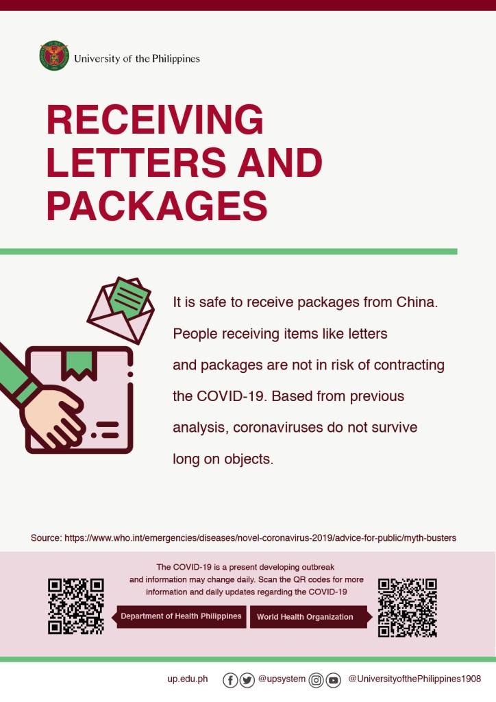 Novel coronavirus disease (COVID-19) advice for the UP Community