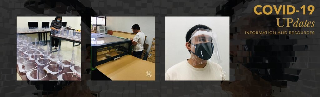 UP Cebu FabLab creates face shields for frontliners against COVID-19
