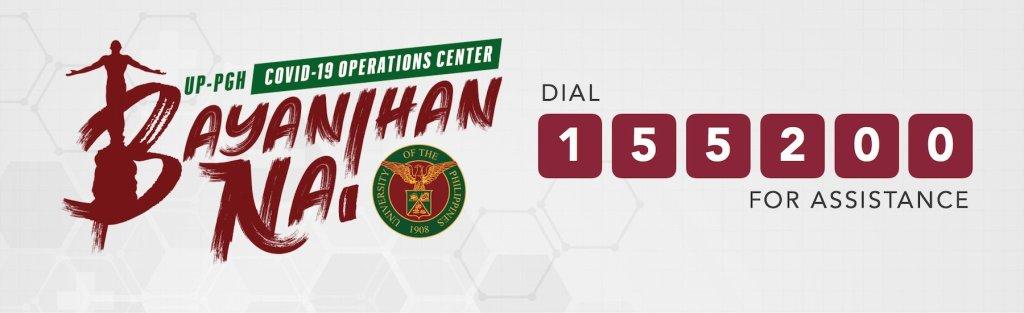 UP PGH Bayanihan Na Operations Center
