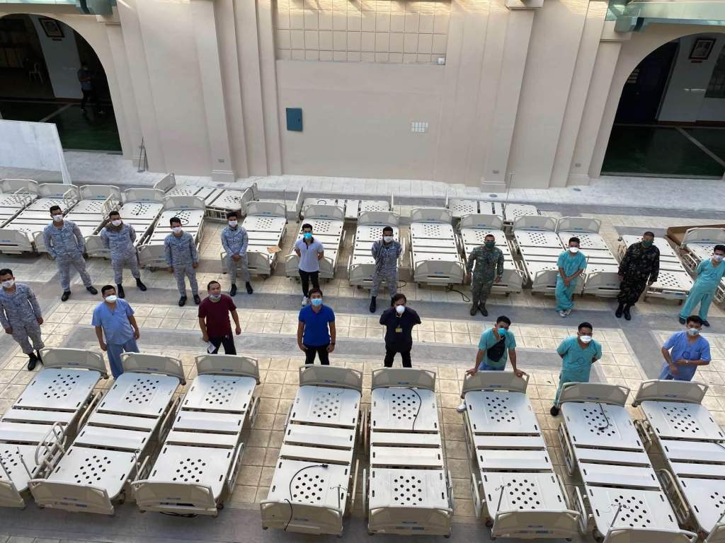 48 Hillrom beds were donated by St. Lukes Medical Center. Source: Philippine General Hospital Facebook Page