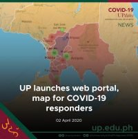 UP launches web portal, map for COVID-19 responders