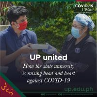 UP united: How the state university is raising head and heart against COVID-19