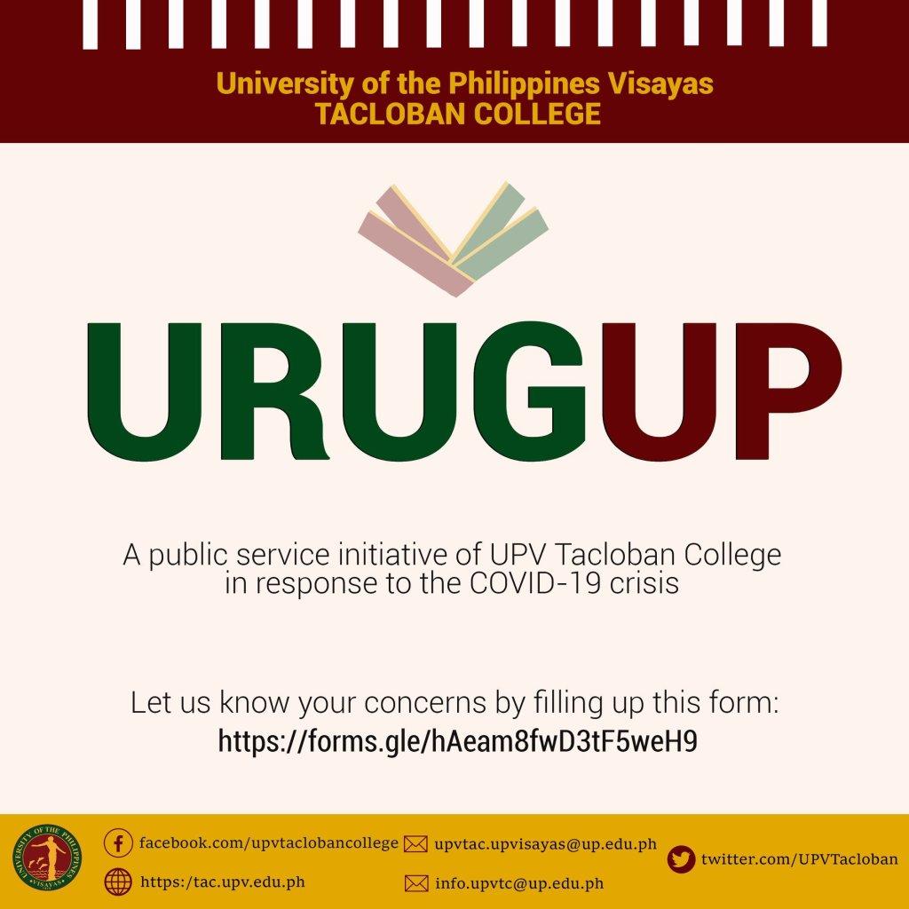 URUGUP: UPV Tacloban's call for cooperation amid COVID-19 crisis