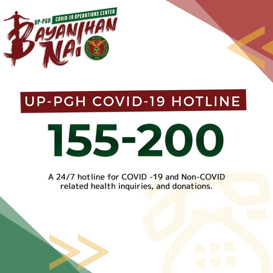 UP-PGH HOTLINE 155-200