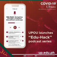 "UPOU launches ""Edu-Hack"" podcast series"