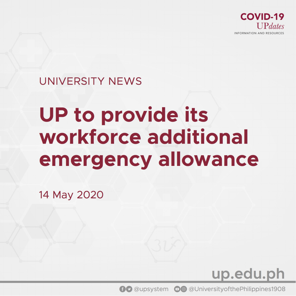 UP to provide its workforce additional emergency allowance