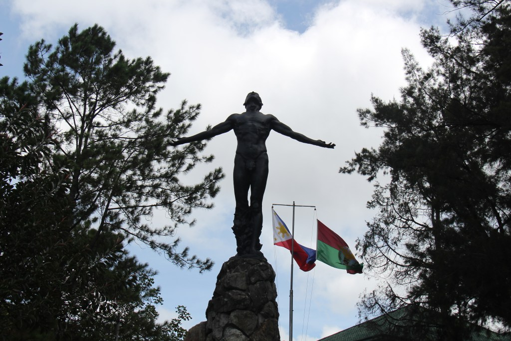 Oblation at UP Baguio (Photo by Misael Bacani, UP MPRO)